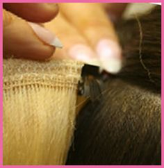 HairCandy - Hair Extensions Edmonton - Install methods include Fusion, Microlinks, Clip-ins and Weaves using premium quality Indian Remy 100% Human Hair