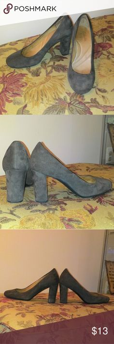 """EUC Clarks Indigo brown suede pumps 3"""" heels in EXCELLENT condition; very minimal signs of wear! NO stains or scuff marks, only a slight foot indentation in the sole.   These are VERY comfortable, I've ran in them once to catch a bus, haha!   Purchase comes with a SURPRISE gift & 1 FREE $4 item of your choosing <3 Clarks Shoes Heels"""
