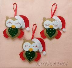 Artes da Luci - Natal - Christmas - coruja - owl