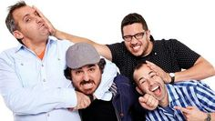 Joe, Q, Sal, and Murr! My aim is to go see them on their Santiago Sent Us tour in January