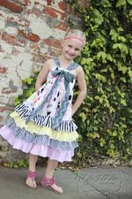 Keeley's Ruffled Bow Dress PDF Pattern