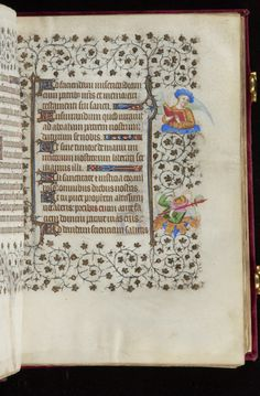 Book of Hours, MS M.919 fol. 35r - Images from Medieval and Renaissance Manuscripts - The Morgan Library & Museum