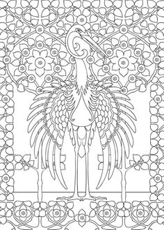 i will draw adult coloring pagepatternsdoodles and mandala for u traditional coloring and other - Coloring Book Paper Type