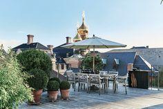 Se den fantastisk udsigt mellem Københavns hustage og kirkekupler