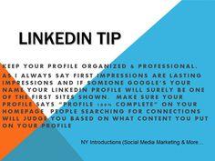 Linkedin Tip - epublicitypr.com
