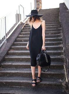 Платье-комбинация. С чем носить? фото №37