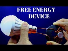 Free Energy Gegerator Using Copper Wire Light For Lifetime - Free Energy Device Using Magnet - YouTube