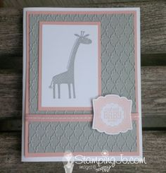Stampin up - zoo babies