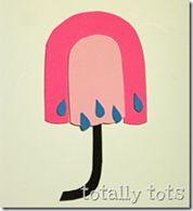 u is for umbrella craft