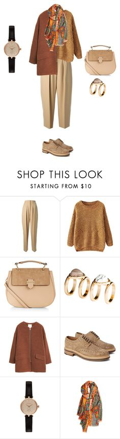 """Untitled #650"" by elenekhurtsilava ❤ liked on Polyvore featuring 3.1 Phillip Lim, Accessorize, H&M, MANGO, Grenson, Barbour and Bindya"