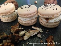 salted macaroons Boursin and walnuts, recipes of salted macaroons, recipes of . Macarons, French Patisserie, Salty Foods, Cooking Chef, Keto Dinner, Nutella, Brunch, Food And Drink, Crockpot Recipes