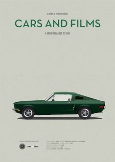 "Cars and Films ""Bullit"" by Jesús Prudencio"