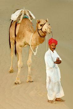 Thar desert, Rajasthan, India,