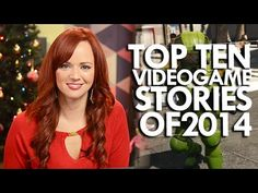 Andrea Rene with Top 10 Stories that shaped the world of Video Games in 2014. #2014ArtsLookback