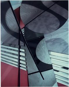 Construct LB 5, 1982, Polaroid, 10x8in