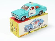 Picture Gallery For : Dinky #270 Ford Panda Police Car - Toymart Price Guide
