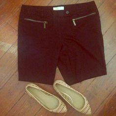 {MICHAEL} Michael Kors Black Shorts Black shorts by MICHAEL Michael Kors. Has belt loops & pockets. Great condition. 97% cotton + 3% spandex // hand wash. No trades or PP. Bundle for discounts. MICHAEL Michael Kors Shorts