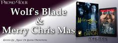 Clare Dargin author of Wolfs Blade & Merry Chris Mas
