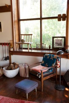 A Sandal-Making Babe Shows Off Her Dreamy Cabin And Design Studio