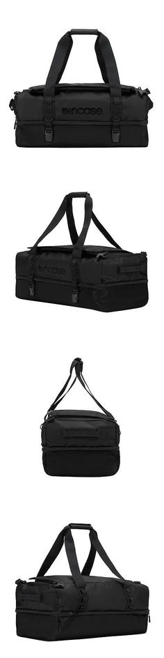 Bags and Backpacks 163537: Incase Tracto Split Gear Duffel Medium ( 60L) Black- New With Tags -> BUY IT NOW ONLY: $100 on eBay!