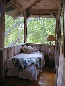 for sure, someday ...in my next life. I will have a porch for sleeping. I love porches. Front, side , back .