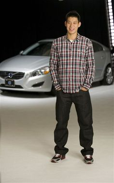 Volvo Cars has recently announced that the rising Chinese-American NBA star known as Jeremy Lin has signed a global brand endorsement contract to become Most Beautiful Man, Beautiful People, Jeremy Lin, Chinese American, Chinese Man, Nba Stars, Global Brands, Nba Players, Brand Ambassador