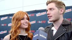 VIDEO: @domsherwood and @kitkatsmeow interviewed by Wikia. #Shadowhunters / Part 3.  Visit Wikia's Youtube channel for more!