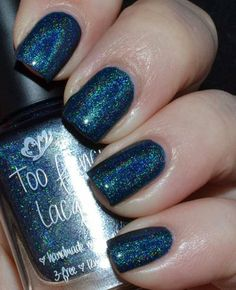 Edgy Polish - Too Fancy Lacquer Royal Jeans