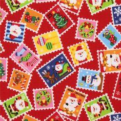 http://www.kawaiifabric.com/en/p7075-red-Christmas-stamp-Santa-Claus-fabric-from-Japan.html
