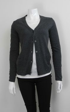 MAJESTIC POCKET CARDIGAN $231.00 AUD 66% cotton + 28% cashmere + 6% poly | long sleeve | button through | pocket detail