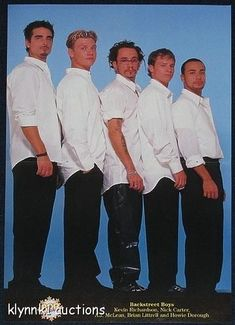 I hate to laugh at my boys, but these are pretty bad! The 30 Most Ridiculous Pictures Of The Backstreet Boys