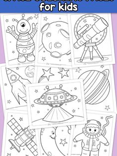 Coloring Pages for Kids Space Coloring Pages for Kids. 10 free printable space themed coloring pages for kids.Space Coloring Pages for Kids. 10 free printable space themed coloring pages for kids. Space Theme Preschool, Space Activities For Kids, Preschool Activities, Outer Space Crafts For Kids, Space Theme For Toddlers, Kids Crafts, Free Printable Coloring Pages, Coloring For Kids, Coloring Pages For Kids