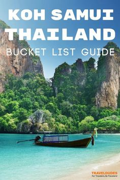 A travel guide to visiting Koh Samui, Thailand. Best things to do on one of Southeast Asia's most beautiful islands. | Blog by Travel Dudes: Community for Travelers, by Travelers!