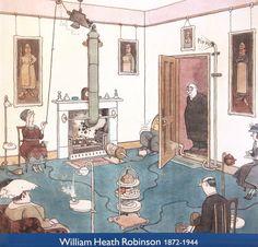Machines and Inventions - William Heath Robinson