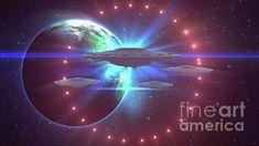 Esoteric Art, Stargate, Ufo, Sci Fi, Digital Art, Instagram Images, Design Inspiration, Fantasy, Wall Art