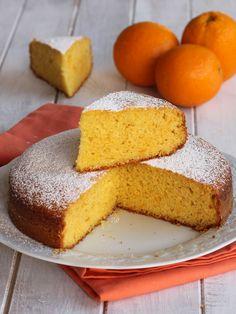 PAN D ARANCIO RICETTA SICILIANA torta con tutta l'arancia frullata