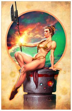 Princess Leia by *Valzonline