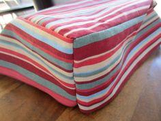 Make new RV seat cushions -- tutorial