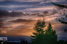 Wednesday Sunset by RobinL #landscape #travel