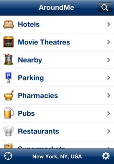 AroundMe app - quickly find out information about your surroundings.