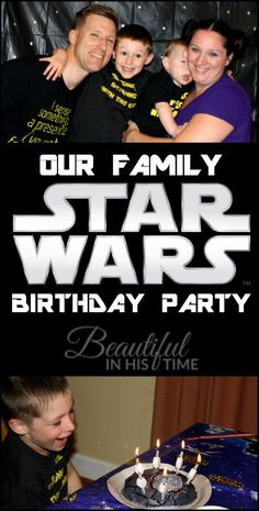 Star Wars Birthday Party: Family Style