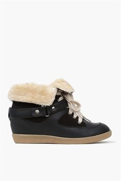 In my future: Patrol Sneaker in Black