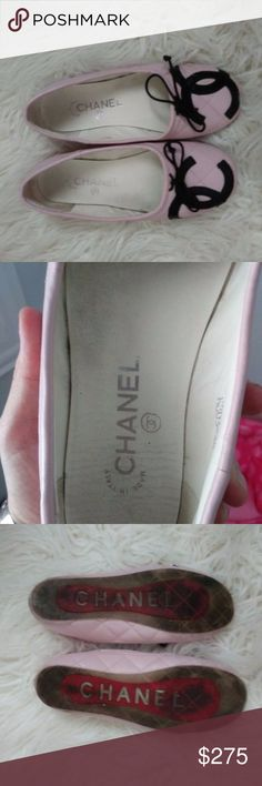 Chanel slippers 6.5 comes with FREE CC COIN POUCH Cute Chanel CC slippers. size 6.5 still very presentable for wear. and decent condition. Sending a free CC coin pouch that serial number came off because lining cleaned,It is authentic but its free. You are buying the shoes. Chanel Shoes Flats & Loafers