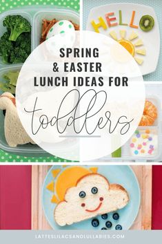 Your kids will love these creative spring bento box lunch ideas. Even the pickiest of eaters won't be able to resist the adorable designs. Lunch Box Recipes, Lunch Ideas, Pumpkin Run, Bottles For Breastfed Babies, Easter Lunch, Gift Guide For Him, Baby Blog, Bento Box Lunch, Easter Crafts For Kids