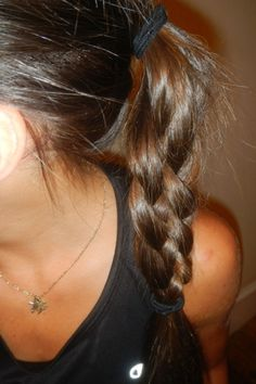Eight Runner-Tested Hairstyles - I don't know if I would be able to do any of these before a run, but they're cute.