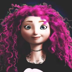 """punked4l: """"If you had the chance to change your fate, would you? ~Merida """""""