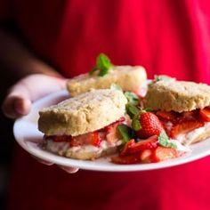 vegan strawberry shortcake by vegrecipesofindia