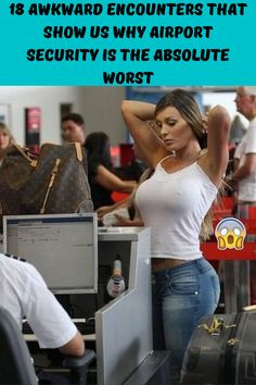 18 Awkward Encounters That Show Us Why Airport Security Is the Absolute Worst - Boredpedia Funny Facts, Funny Jokes, Hilarious, Funny Iphone Wallpaper, Funny Wallpapers, Fly Safe, Airport Security, Show Us, New Pins