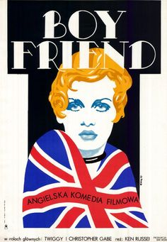 The Boyfriend (Ken Russell, 1971) Polish design by Jakub Erol