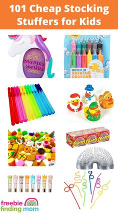 If Santa could use a little help finding stocking stuffers for kids on a budget, then I've got you covered! Here are 101 Cheap Stocking Stuffers for Kids that are perfect for all ages from toddlers to teenagers! You'll find lots of fun ideas for boys and girls and most items are under $10. #stockingstuffersforkids #stockingstuffersforteenagers #stockingstuffersforadults #stockingstuffersfortoddlers #stockingstufferideas Diy Gifts For Him, Diy Gifts For Friends, Diy Gifts For Boyfriend, Stocking Stuffers For Teenagers, Toddler Stocking Stuffers, Activities For One Year Olds, Toddler Activities, Diy Christmas Gifts, Kids House